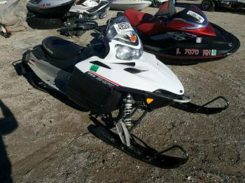 Salvage Polaris Snowmobile