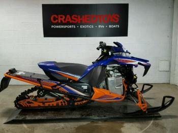 Salvage Yamaha Snowmobile